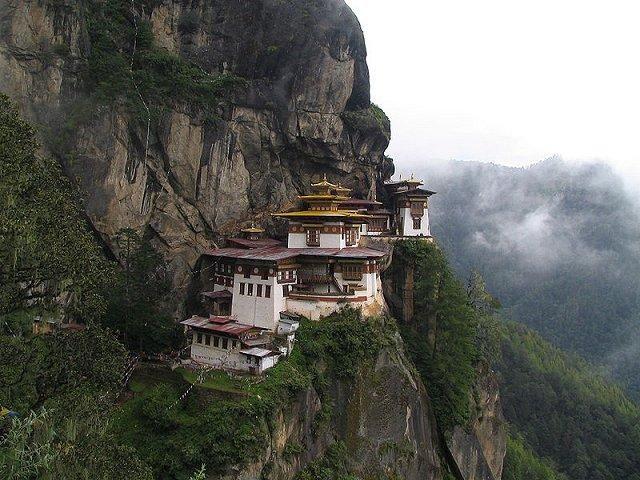 Taktsang Monastery (Tiger's Nest) in Bhutan.